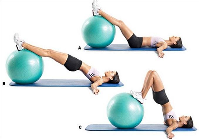 Фитбол - гимнастика с мячом, упражнения для похудения, беременным, грудничкам