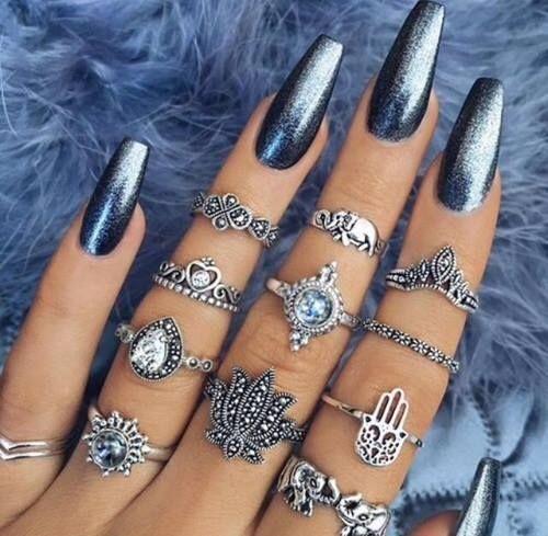 Формы ногтей для маникюра - разновидности, фото, схемы