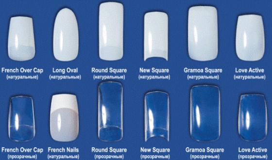 Гель для наращивания ногтей на формах, типсы, однофазный, акрил. Какой лучше выбрать, отзывы