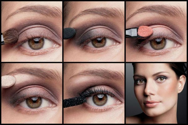 Повседневный макияж для зеленых глаз на каждый день. Пошаговая инструкция с фото