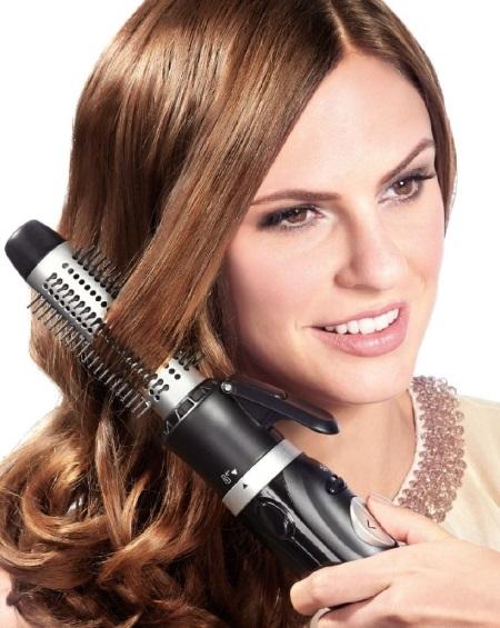 Фен для укладки волос с вращающейся щеткой. Какой лучше, как правильно выбирать профессиональный