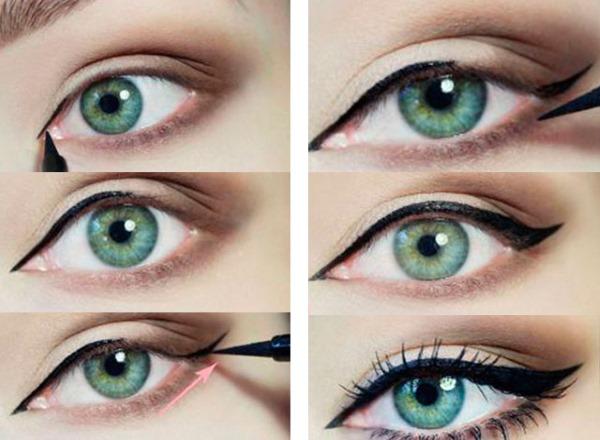 Легкий макияж на каждый день для карих, зеленых, голубых глаз. Пошаговая инструкция красивого make up для начинающих. Фото