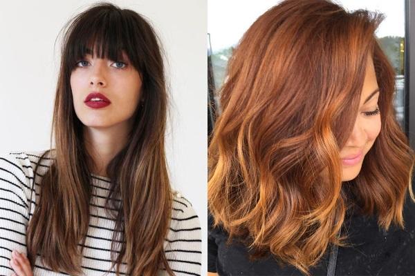Рыжее мелирование на темные волосы: техника окрашивания, фото, кому подходит, какую краску выбрать, оттенки