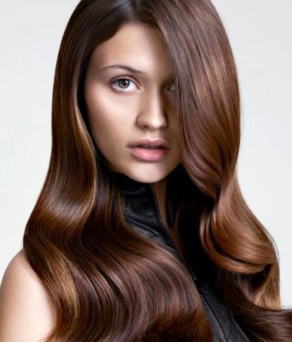 Цвет волос молочный шоколад. Фото, как выглядит, кому идёт. Оттенки палитры красок Эстель, Лореаль, Гарньер, Палет
