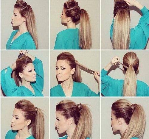 Быстрые и легкие причёски на средние волосы. Фото красивые самой себе быстро на каждый день