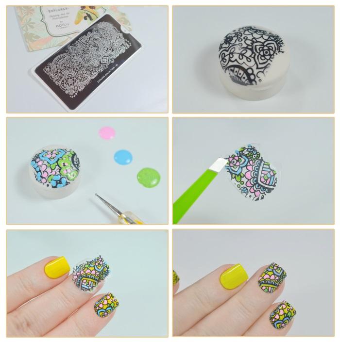 Вензеля на ногтях. Фото пошагово, дизайны для росписи, как научиться рисовать гель-лаком: схемы, трафареты