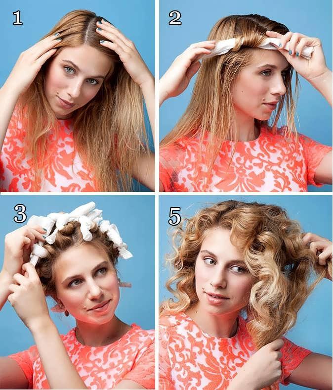 Бигуди-папильотки для волос. Как пользоваться, накручивать кудри на короткие, средние и длинные волосы