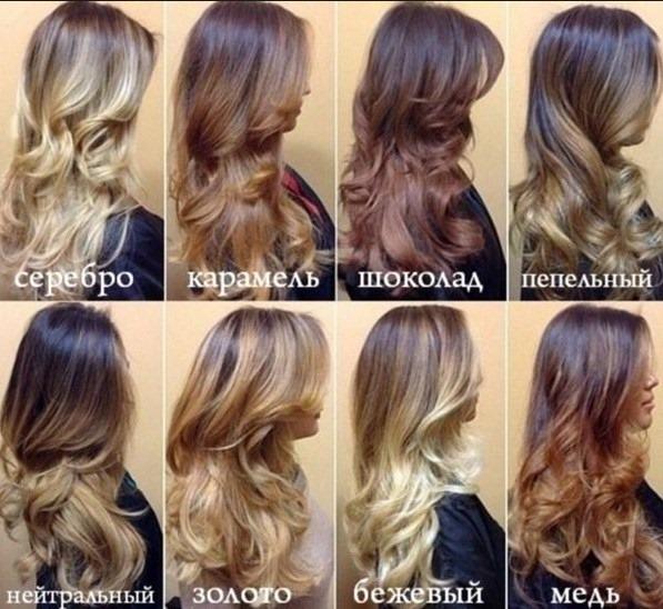 Шатуш на русые волосы. Фото до и после окрашивания на длинные, короткие, средние волосы, с челкой и без. Инструкция