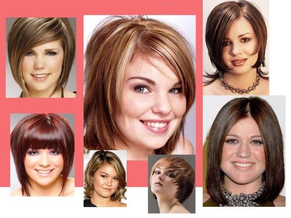 Стрижки на полное лицо. Фото, какие подойдут на короткие, средние, длинные, волнистые волосы