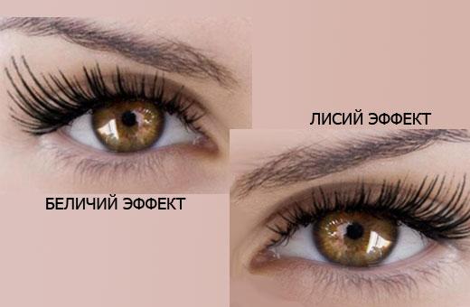 Беличий эффект наращивания ресниц. Фото до и после, кому подходит, как сделать