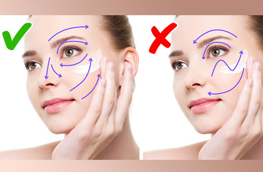 Как правильно наносить крем вокруг глаз. Схема для подтяжки в зависимости от состава и действия средства, роликом