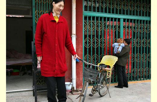 Самые высокие женщины мира за всю историю человечества. Рост и вес, фото