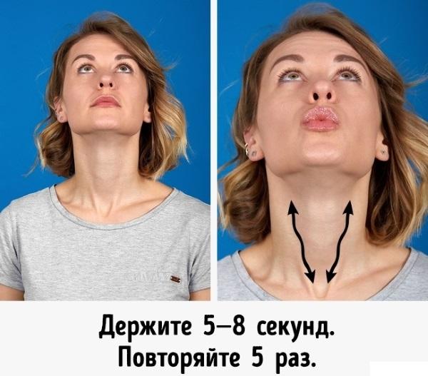 Упражнения для лица от морщин. Гимнастика от дряблости кожи, как выглядеть моложе