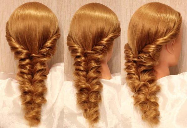 Причёски на кудрявые волосы средней длины. Фото, как сделать волнистые локоны на вечер, свадьбу, до плеч