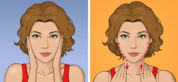 Самомассаж лица от морщин. Фото, видео, методики, как делать пошагово в домашних условиях