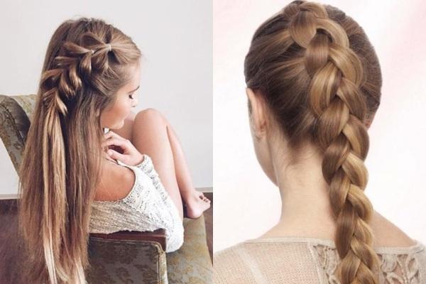 Как заплести красивые косички по бокам, французские, легкие на короткие и средние волосы. Фото