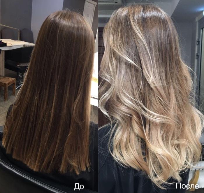 Светлые пряди на темных волосах. Фото, техники окрашивания на длинные, средние, каре