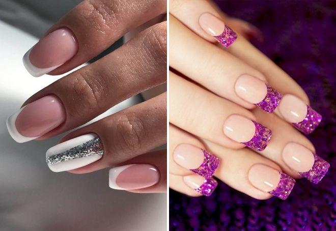 Классический френч на ногтях. Фото, новинки маникюра гель-лаком 2019 на короткие и длинные ногти