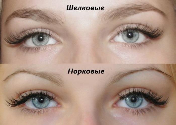 Нарощенные ресницы. Эффекты, изгибы, длина. Фото до и после