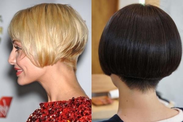 Стрижка каре градуированное на средние волосы. Фото каре-боб, с челкой, объемом на макушке, удлинением