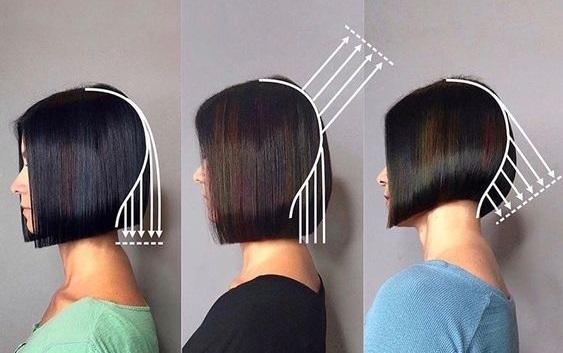 Градуированные стрижки на средние волосы. Фото с челкой и без, на круглое лицо, модные
