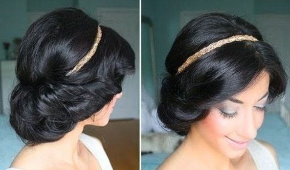 Прически в греческом стиле на средние, длинные волосы, из кос, с челкой. Фото, как сделать