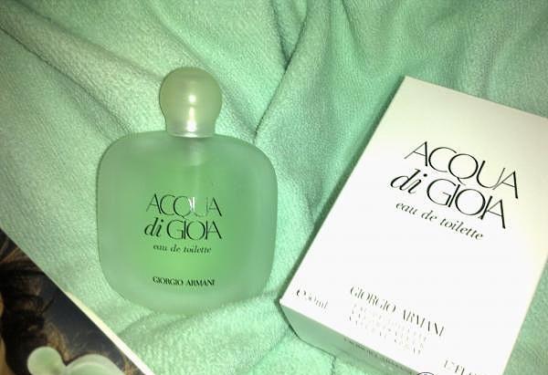 Женские духи Giorgio Armani Acqua di Gioia, парфюм и туалетная вода. Описание аромата