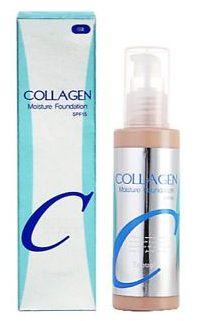Тональный крем-коллаген Enough Collagen Moisture Foundation. Отзывы, оттенки, плюсы и минусы, аналоги