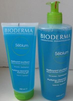 Биодерма Себиум (Bioderma Sebium) гель для умывания очищающий, гуммирующий, увлажняющий. Отзывы, состав, цена