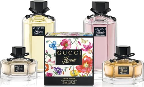Гуччи Флора (Gucci Flora by Gucci). Описание ароматов гардения, магнолия, фреш, мандарин, фрагрантика. Цены