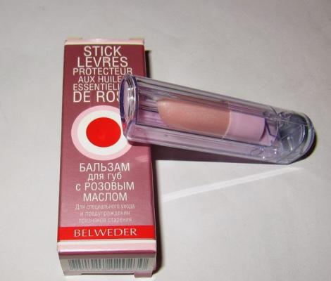 Бельведер (Belweder) бальзам для губ с розовым маслом, фитостеролом, манго, марулой. Виды, цена, состав