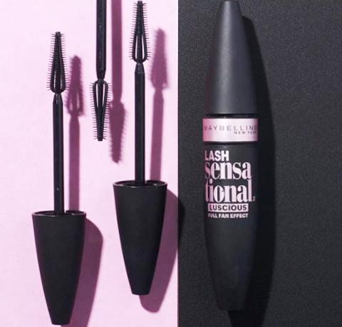 Maybelline Lash Sensational (Мейбелин Лаш Сенсейшен). Отзывы, цена, Full Fan Effect Limited Edition, Luscious, Intense Black Mascara