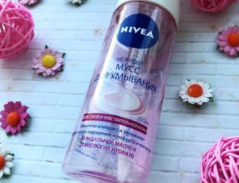 Нивея (Nivea) пенка для умывания черная, розовая, синяя для сухой, нормальной, жирной кожи