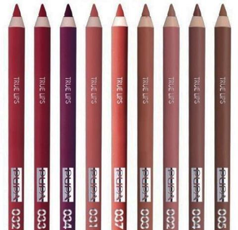 Pupa (Пупа) карандаш для губ True Lips. Оттенки, где купить, цена