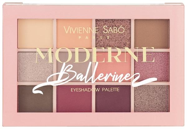 Вивьен Сабо (Vivienne Sabo) палетка теней: Балерина, Париж, Boutique, Артист Кабаре, Plume. Цены