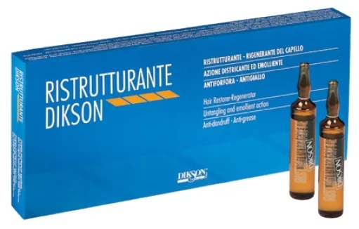 Диксон Реструктурант (Dikson Ristrutturante) ампулы для волос. Инструкция по применению, отзывы