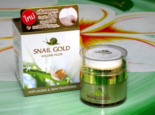 Snail Gold крем с экстрактом улитки. Инструкция по применению, отзывы
