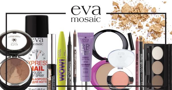 Eva Mosaic (Ева Мозаик) косметика. Отзывы, каталог, цены
