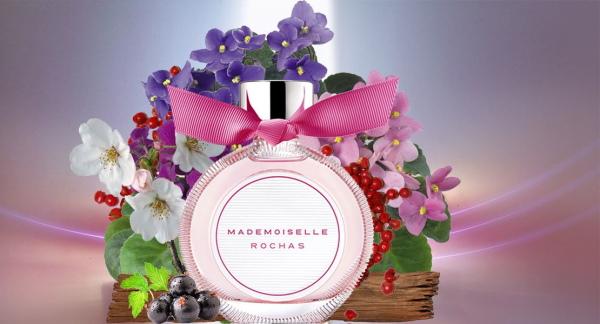Туалетная вода Mademoiselle Rochas (Мадмуазель Рошас). Описание духов, аромат парфюма, отзывы