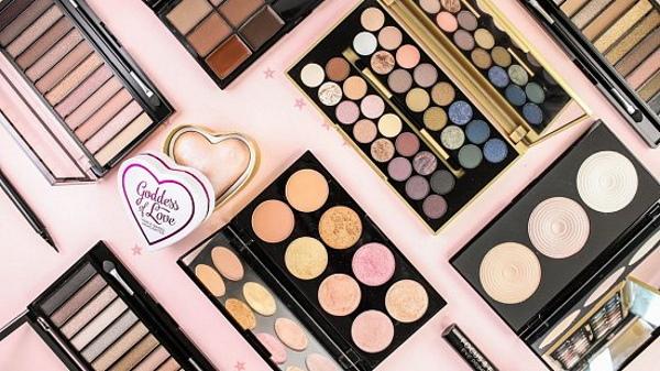 Тени Makeup Revolution (Мейкап Революшн): Reloaded, London, Velvet Rose, Iconic, Precious Stone. Цена, отзывы